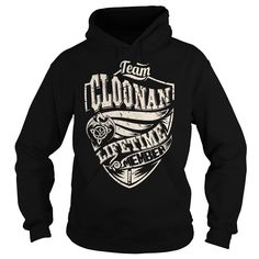 (Tshirt Design) Team CLOONAN Lifetime Member Dragon Last Name Surname T-Shirt Discount Hot Hoodies, Funny Tee Shirts