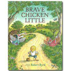 Great books for kindergarten kids   Brave Chicken Little