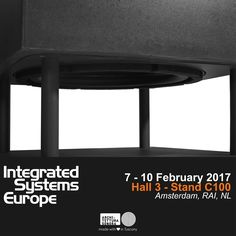 One week to go before #ISE2017 starts... we are ready to welcome you into the AS world!