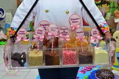 AlêArt Cake Design: Brigaderia Food Trucks, Candy Party, Churros, Kiosk, Cake Design, Party Time, Buffet, Big Project, Project Ideas