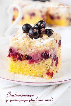 ciasto ucierane z owocami i kruszonką Cheesecake, Cook, Recipes, Cheese Cakes, Rezepte, Food Recipes, Cheesecakes, Cherry Cheesecake Shooters, Recipies