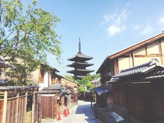 Walk around the town of Kyoto