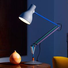 Type 75 Desk Lamp - Paul Smith Edition 2, originally designed by Sir Kenneth Grange for Anglepoise. Get The Originals at www.2ndfloor.gr