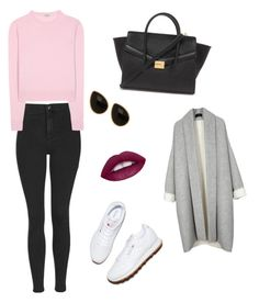"""""""Untitled #1"""" by nolwenn-bourcier on Polyvore featuring Topshop, Miu Miu, Reebok, Natasha Accessories, Forever 21, women's clothing, women, female, woman and misses"""