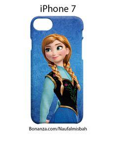 Princess Anna Frozen iPhone 7 Case Cover Wrap Around