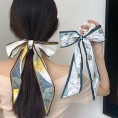 Cannoli, Color Yellow, Hair Ties, Ribbon, Pearl, China, Products, Fashion, Shopping