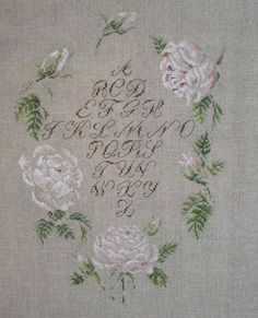 Free cross stitch design by Marie-Therese  Saint-Aubin.