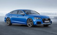 2018 Audi RS5. To be available as Sportback too