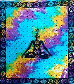 Vrinda® 7 Chakras Tye & Dye Wall Hanging and Dorm Tapestry Vrinda® http://www.amazon.com/dp/B010VSC87I/ref=cm_sw_r_pi_dp_b4VTvb0KM7J9D