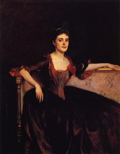 Mrs. Thomas Lincoln Manson Jr (Mary Groot) - John Singer Sargent
