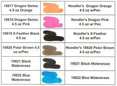Noodler's ink color-swatch-009