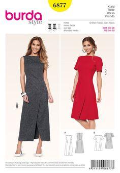 BD6877 Misses Wrap Dress