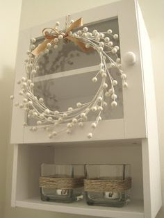 Berry easy wreath from The Ugly Duckling House