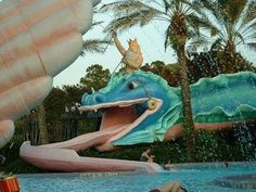 Disney Pool Port Orleans Doubloon Lagoon Photo Slideshow