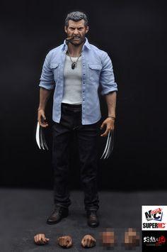 Burning Soul 1/6 Scale Logan Angry Hugh Action Figure Set