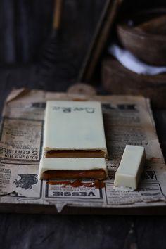 Turrón casero de chocolate,de Lareceta e la felicidad!!.
