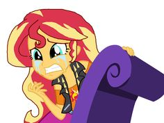 MLP EQG- Sunset Shimmer crying in tears (Forgotten Friendship episode) Original My Little Pony, Crystal Ponies, Equestrian Girls, Be A Nice Human, Cartoon Art, Dog Love, Sunlight, Crying, War