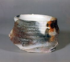 Paul Soldner. Pai do rakú contemporáneo. Bowl, 1998.