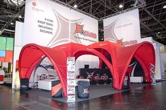EuroShop 2011 | X-GLOO 5x5 and 6x6 with Canopies