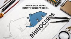 "‪""There are some teams and logos you see, no matter where you are in the world, and you know exactly who they are and what they mean""...http://florinchitic.com/rhinoceros-branding-concept/ #travel #brand #branding #concept #logo #design #blue #digitalart #creative #illustration ‬"