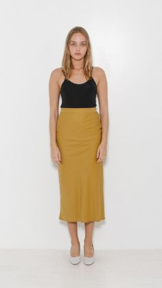 Straight Skirt by Suzanne Rae