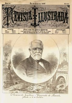 A morte do Visconde de Mauá na capa da Revista Illustrada Litogravura, 2 de novembro de 1889 – Acervo Gilberto Maringoni.