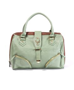 Nila Anthony Double Front Pocket Satchel: adorable way to carry my books around!