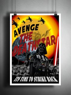 Star Wars inspired Propaganda art Darth Vader art by Loft817
