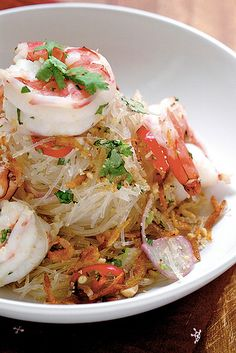 I'm crazy about Thai salads (oh and Vietnamese ones too)...maybe I could make this?  hhh...or my hubby ;)