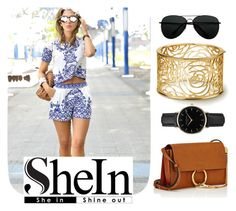 """""""SheIn"""" by unicornul ❤ liked on Polyvore featuring Chloé and ROSEFIELD"""