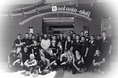 Family Photo with the Attendees of LJK Barber College @ Malaga- Spain