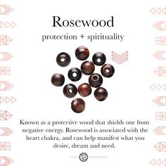 Rosewood | Gemstones & Sacred Materials | Tiny Devotions | Mala Beads