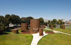 Museo Interactivo de la Historia de Lugo | Nieto Sobejano Arquitectos | 2011  + http://www.dezeen.com/2011/08/08/interactive-museum-of-the-history-of-lugo-by-nieto-sobejano-arquitectos/  * Spain, Mon Amour (Bienal de Venecia, 2012)  > Parque da Milagrosa, Lugo