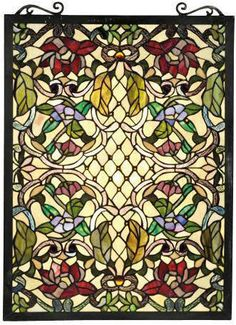 stained glass windows: