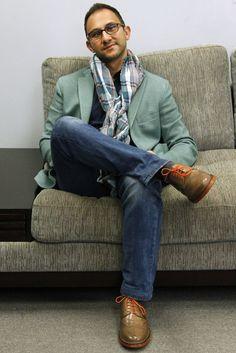 How to rock soles. Sherman Zito in Tan Orange Ben Sherman, Footwear, Orange, Fashion, Moda, Shoe, Fashion Styles, Shoes, Zapatos