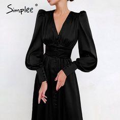 Vestidos Vintage, Vintage Long Dress, Vintage Dresses, Elegant Woman, Satin Dresses, Elegant Dresses, Midi Dresses, Long Dresses, Sexy Dresses