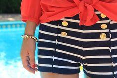 Sailor shorts - love.