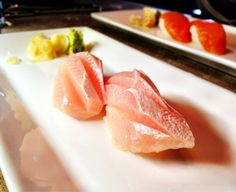 Yellow tail sushi
