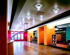 North Park University Brandel Library, Chicago IL | VOA Associates, Architects. working that desk