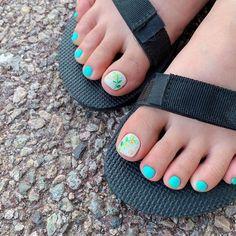 ไอเดียเพ้นท์เล็บเท้าสดใส ดูเซ็กซี่ขี้เล่นแบบสาวเกาหลี IG ddowa_nail Pedicure Colors, Toe Nails, Nail Designs, Nail Polish, Beautiful, Products, Feet Nails, Nice Asses, Toenails