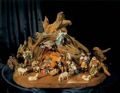 Best Crystal and Handcrafted Nativity Sets Home Holiday Decorations