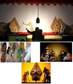 Pertunjukan Wayang Kulit di Bali