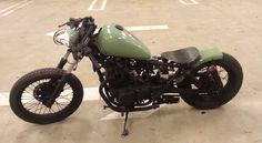 Honda Rebel Bobber - Blacked out motor and frame, great handle bars as well.