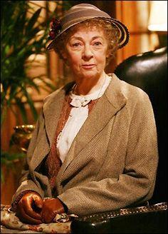 Geraldine McEwan as my favorite Miss Marple
