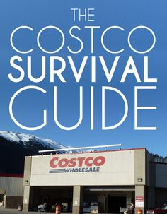 Taking your family to Costco isn't as difficult as surviving a zombie apocalypse, but it's close.