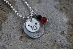 Cute graduation necklace