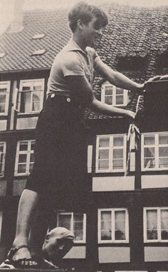 A teenage Sophie Scholl... she later became a member of White Rose resistance group and was executed on 22nd February 1943