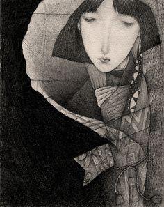 Poool of Darkness by Gustav Klim