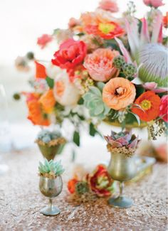Love these colors and use of succulents-Board #120484