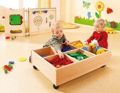 Salle d'activité interâge A - Salle d'activité - Exemples d'aménagement - Haba petite enfance - Habermaaß GmbH